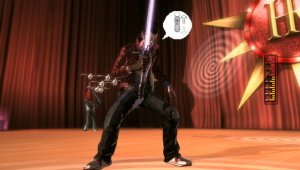Gameplay de No More Heroes: Red Zone