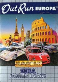 OutRun Europa Game Gear