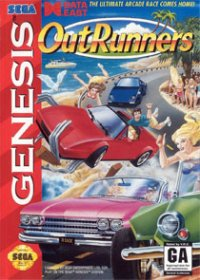 OutRunners Mega Drive