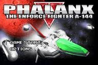 Phalanx The Enforce Fighter A-144 Wii
