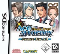 Phoenix Wright: Ace Attorney - Justice for All Nintendo DS