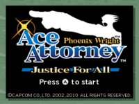 Phoenix Wright: Ace Attorney - Justice for All Wii