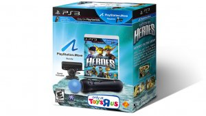 Playstation Move Heroes contará con pack