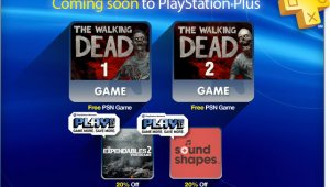Walking Dead 1 & 2 gratis con Playstation Plus