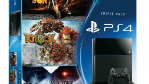 Nuevo pack de PS4 con Infamous: Second Son, Knack y KillZone en Alemania