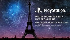Sony estará presente en la Paris Games Week 2017