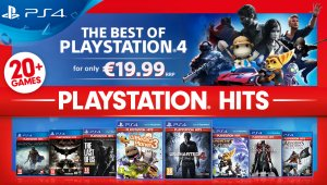 Sony anuncia PlayStation Hits, lo mejor de PS4 a 19,99 euros