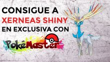 Consigue a Xerneas Shiny en exclusiva con PokéMaster