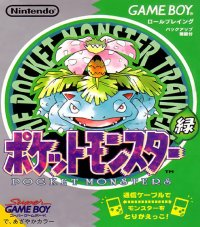 Pokémon Edición Verde Game Boy