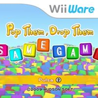 Pop Them, Drop Them Samegame Wii