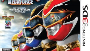 Power Rangers Megaforce y Young Justice ya disponibles en las tiendas