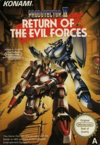 Probotector II: Return of the Evil Forces NES