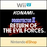 Probotector II: Return of the Evil Forces Wii U
