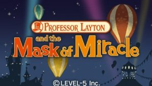 [E310] Imágenes de Professor Layton and the Mask of Miracle para 3DS