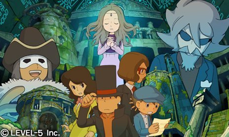 Professor Layton and the Ruins of an Advanced Civi