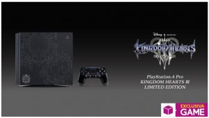 PlayStation 4 Pro edición especial de Kingdom Hearts 3 será exclusiva de GAME en España