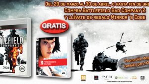 Compra Bad Company 2 y de regalo Mirror´s Edge