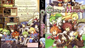 Anunciado Class of Heroes: Final para PSP