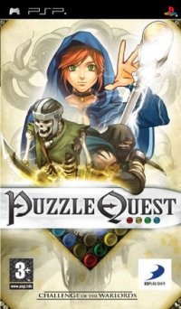 Puzzle Quest: Challenge of the Warlords PSP