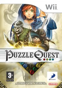 Puzzle Quest: Challenge of the Warlords Wii