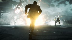 Quantum Break se luce en varias capturas in-game
