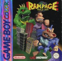 Rampage World Tour Game Boy Color