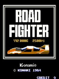 Road Fighter Recreativa