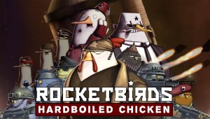 Los Rocketbirds: Hardboiled Chicken se lanza hoy en PlayStation Network