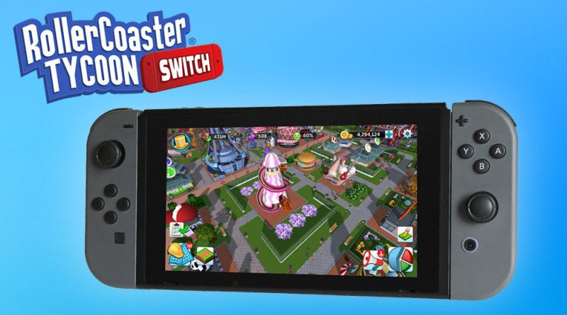 RollerCoaster Tycoon Nintendo Switch