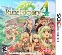 Rune Factory 4 Nintendo 3DS