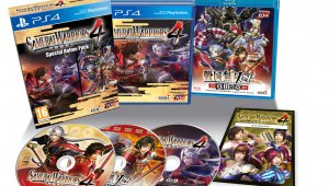 Anunciada la edición Samurai Warriors 4: Special Anime Pack para PlayStation 4