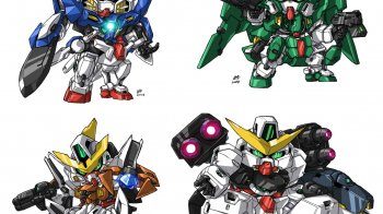 SD Gundam G Generation World llegará a Wii