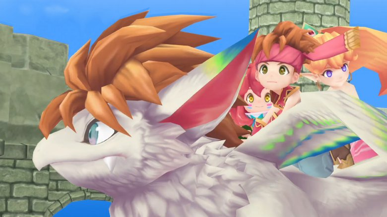 Así es Secret of Mana, el remake de una obra maestra de los RPG