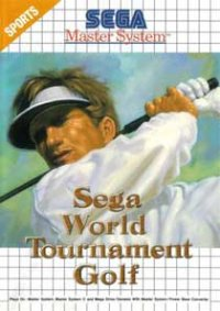 Sega World Tournament Golf Master System