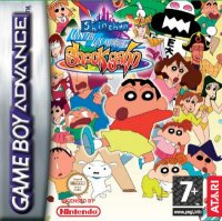 Shin Chan contra los muñecos de Shock Gan Game Boy Advance