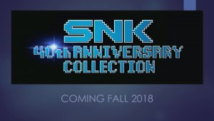 SNK anuncia SNK 40th Anniversary Collection para Nintendo Switch