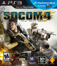 SOCOM 4: U.S. Navy SEALs PS3