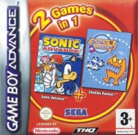 Sonic Advance + ChuChu Rocket! Game Boy Advance