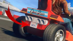 Sega confirma a Ryo Hazuki en Sonic & All-Stars Racing Transformed