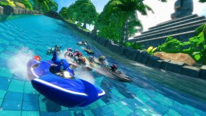 Primer gameplay de Sonic & All-Stars Racing Transformed en PS Vita