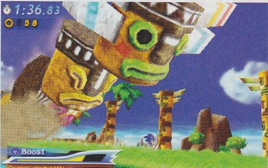 Sonic Generations Scans 3DS