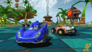 Primer trailer de Sonic & SEGA All-stars Racing para Wii