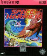 Space Harrier TurboGrafx 16