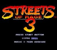 Streets of Rage 3 Wii