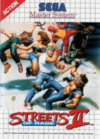 Streets of Rage II Master System