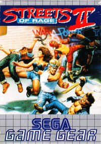 Streets of Rage II Game Gear
