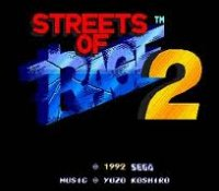 Streets of Rage II Wii