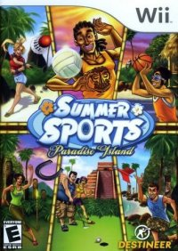 Summer Sports Paradise Island Wii