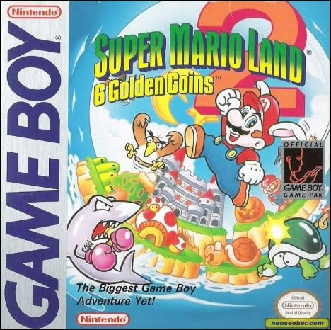 Super Mario Land 2: 6 Golden Coins (CV)