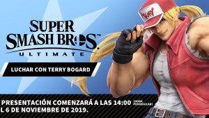 Super Smash Bros. Ultimate: anunciada la presentación de Terry Bogard